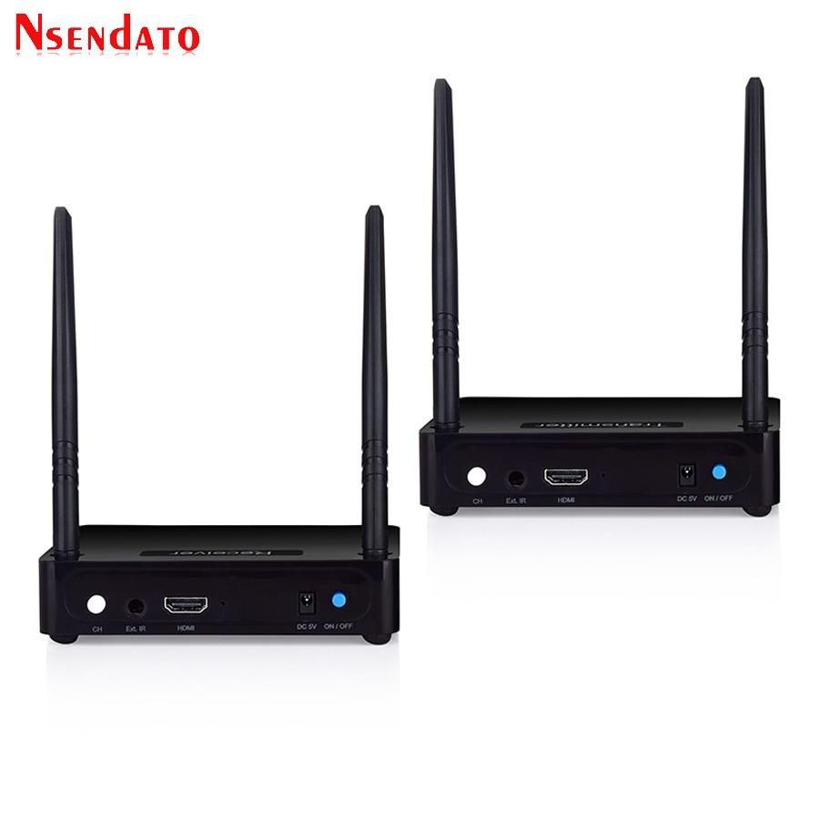 Measy HD585 5.8GHz 350M/1150 Feet HDMI Wireless AV Video Audio ...