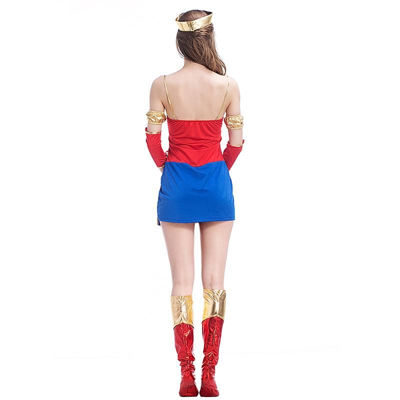 VASHEJIANG Sexy Wonder Woman զգեստները - Կարնավալային հագուստները - Լուսանկար 5