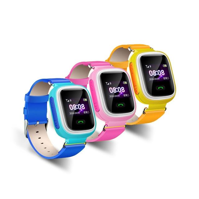 Popular kid smart watch com alarme anti-perdido tracker real-time localizando discagem/resposta chamada monitor remoto sos crianças guarda de segurança