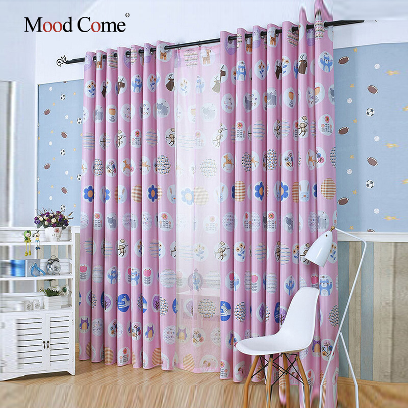 animals and plants children curtains baby room curtains for living room the bedroom blackout curtains for - Blackout Shades Baby Room