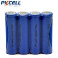 4 PCS PKCELL Bateria Lifepo4 18650 1200 mAh 3.2 V Bateria lifepo4 IFR 18650 Bateria li-ion Bateria Recarregável Celular Para Poder ferramentas