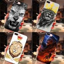 King Lion Beautiful Animals For Huawei Y3 Y5 II Y6 Y7 Y9 nova 2 Plus 2S 3i 4 Lite Plus Prime 2017 2018 2019 Cute Phone Cases(China)