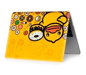 Image 4 - Ente farbe druck notebook fall für Macbook Air 11 13 Pro Retina 12 13 15 zoll Farben Mit Touch Bar neue Air 13 Pro 13 15