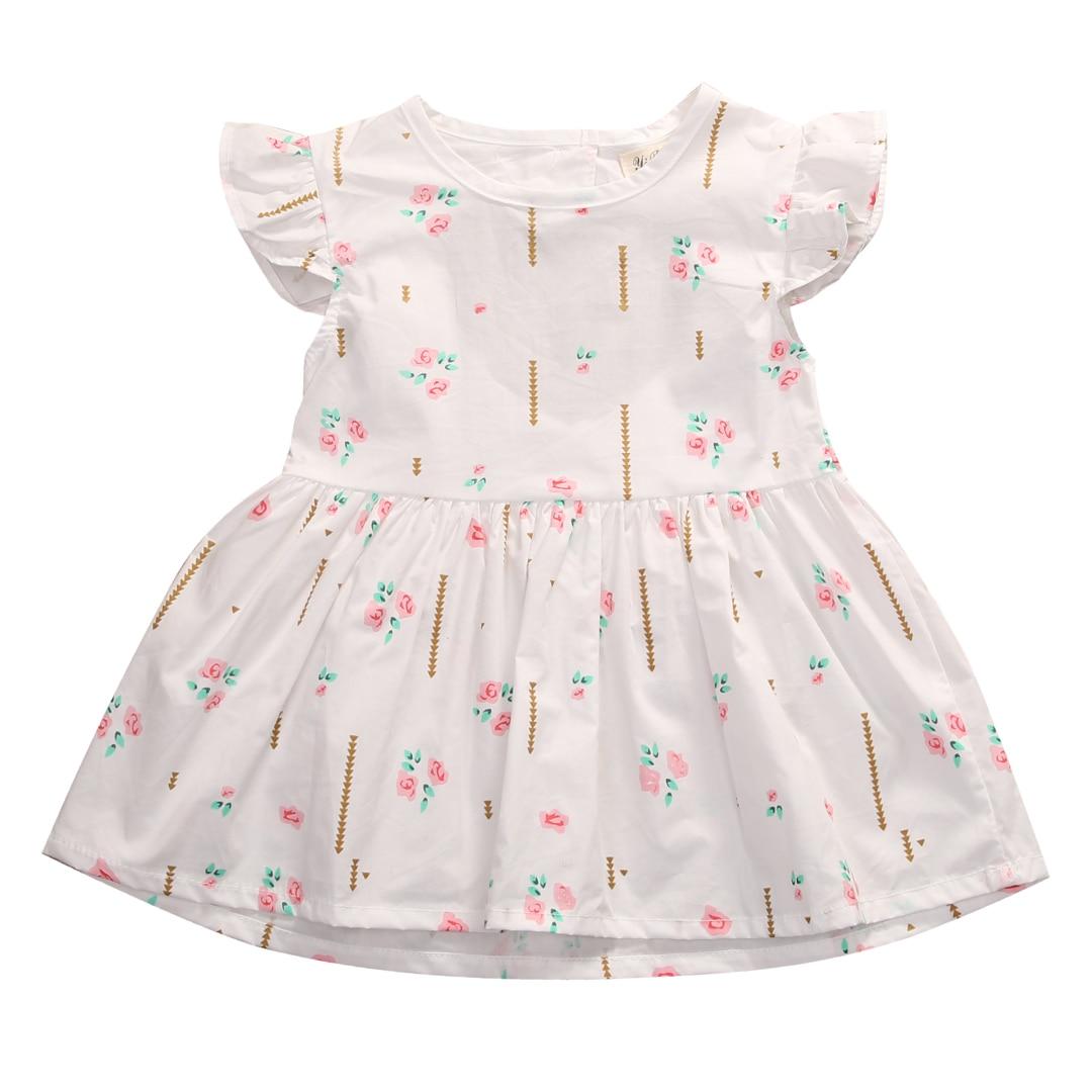 pudcoco summer bulk floral hot Newborn Toddler Baby Girl Dress Princess Party Casual mini Sleeveless Cotton Dresses 6 24M|baby girl dress|baby dresses girlnewborn baby girl dresses - AliExpress