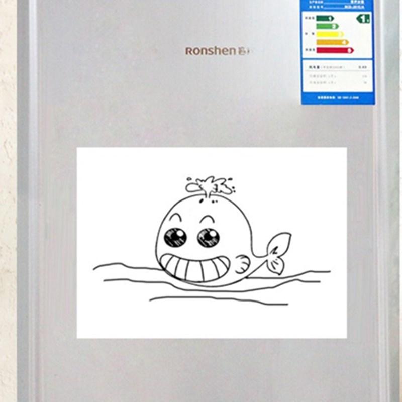 21*30cm Soft Fridge Magnets Flexible Mini Whiteboard PET Film Message Board Magnetic Notes Refrigerator Memo Pad