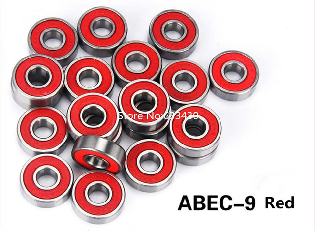 10 ABEC 9 High Performance Stainless Steel Bearings Roller Skate Skateboard Scooter Wheel Wholesale