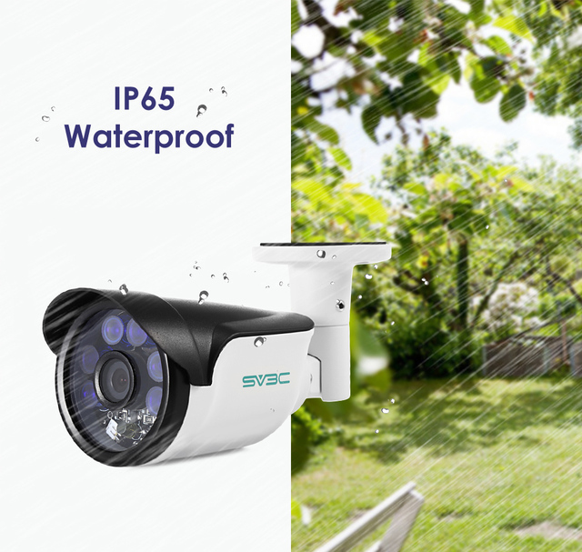 fa67718e904a78 SV3C SV B01 HD 1080 p Caméra IP avec POE Vision Nocturne H.264 ...