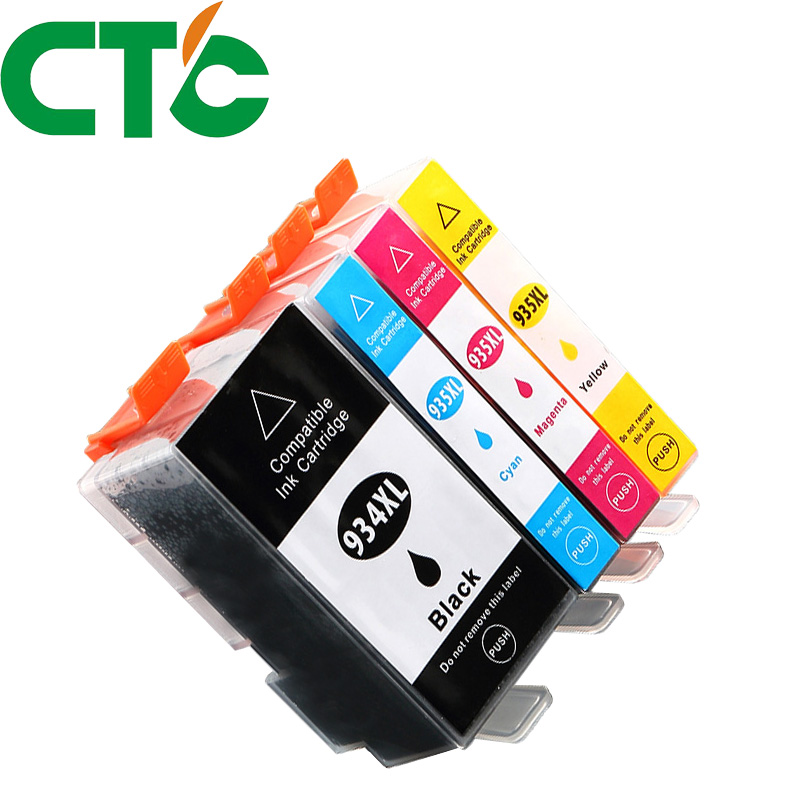 4 Pack 934xl 935xl Compatible Ink Cartridge for HP Officejet Pro 6812 6830 6815 6835 6230 e-All-in-One