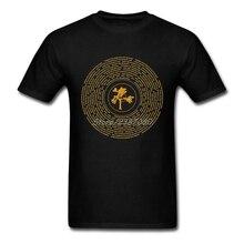 Джошуа винил U2 группа логотип футболка XXXL короткий рукав Для Мужчин's Футболки Поп Переживет Хлопок Crewneck Для мужчин s футболки