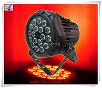 E 50pcs led par stage light 18x10w led par spot wash light ip65 flat par can