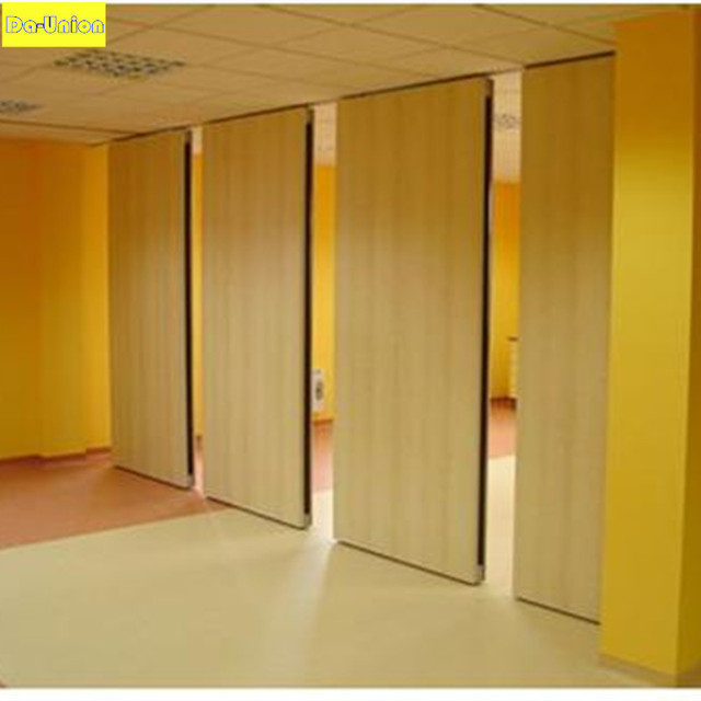 Sound proof wooden room dividing hotel restaurant for Movable walls room partitions