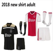 51be24101c2 new arrival 2018 2019 New Top quality adult Ajax kits home away men shirts  Ajax 18 19 kits T shirts Quality Casual free shipping