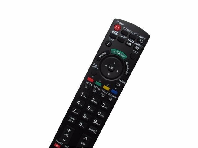 Remote Control For Panasonic N2QAYB000672 TH 42PZ80E TH42PZ80E TH 42PZ80EA TH 42PZ85E TH 42PZ85EA TH 42PZ80E LCD Viera HDTV TV
