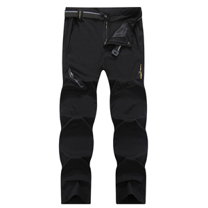 Image 2 - Mountainskin 8XL Mens Summer Quick Dry Softshell Pants Outdoor Elastic Camping Hiking Trekking Fishing Climbing Trousers MA138