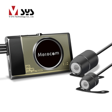 Full HD 1080P and VGA Dual Lens car DVR / Motorcycle DVR