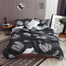 Растительные цветочные печатные стеганые одеяла летом используется тонкий кондиционер одеяло королева размер Colcha одеяла одно покрывало для односпальной кровати