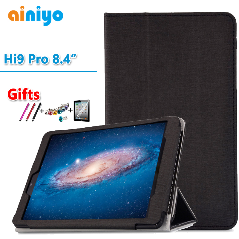 цена на High quality Case For CHUWI HI9 Pro 8.4 Inch Tablet PC Fashion PU case cover for CHUWI hi9 pro + free Screen Film Gifts
