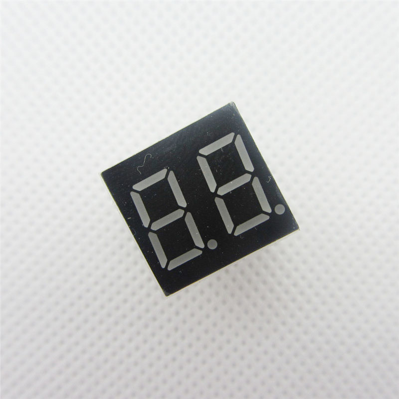 "2Pcs 0.36inch 7 Segment 4 Digit Common Cathode 0.36/"" RED LED Digital Display NEW"