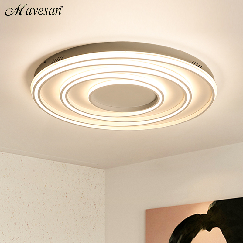 2019 bedroom led ceiling lights for 10 15square meters restaurant indoor light luminarias para sala Remote