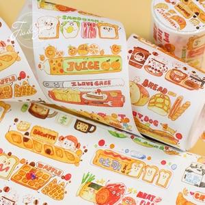 Image 2 - 6PCS/LOT meatball life series of decorative paper tapes masking tape washi tape