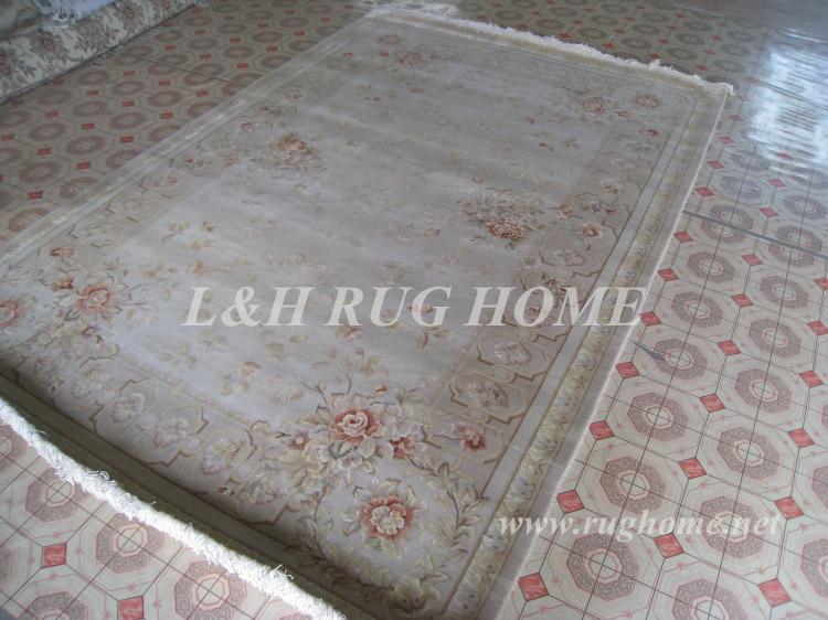 Penghantaran percuma 6'X9 '160Line Hand-knotted Persian Rug, Wool and - Tekstil rumah - Foto 2