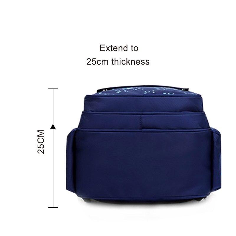 Zippers Large Capacity Boy School Backpacks School Bags For boys Children Backpack Nylon Girls Schoolbags  Mochila Escolar