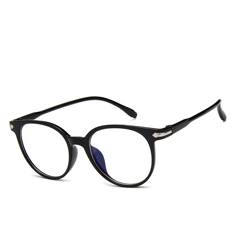 Women Spectacle Optical Frame Glasses Clear Lens Lady Vintage Computer Anti-Radiation Eyeglasses XIN-Shipping