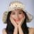 Nueva primavera verano otoño de la mujer moda plegable grande ancho Brim Floppy Sun fold encantadora Floppy Cloche bowler Hat Cap