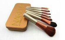 7pcs/set Naked Lady Makeup Brushes Make Up Tool Brush Set Cosmetics pinceis Kit For Eyeshadow Blusher Concealer Set  #825