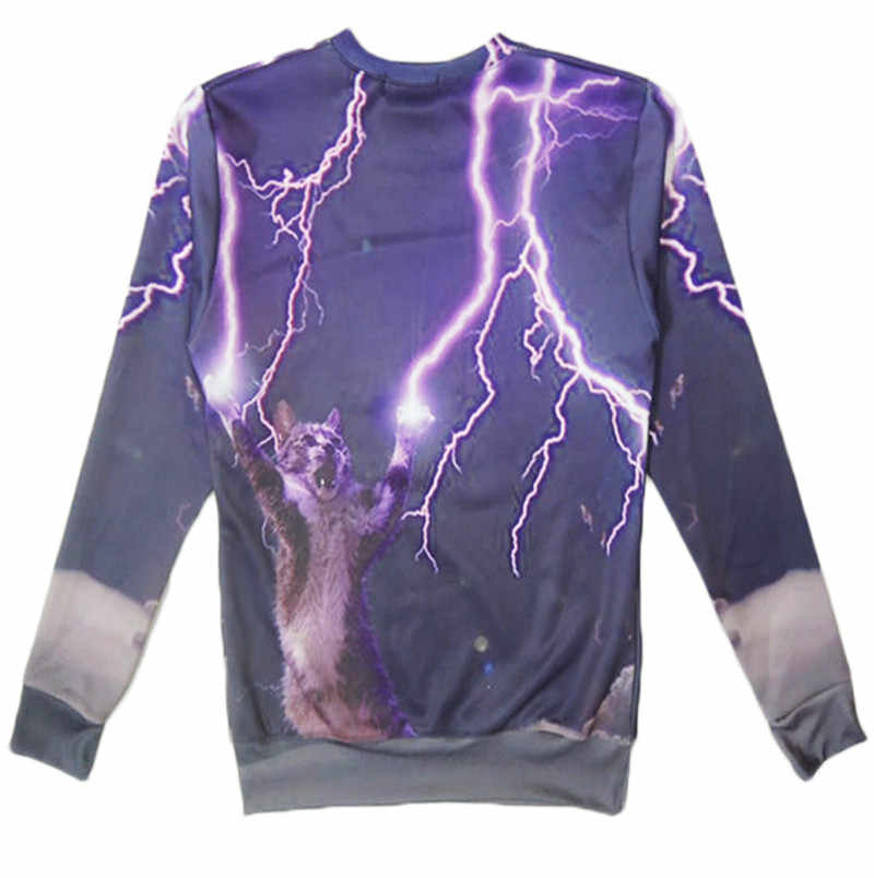 e1f734f77cfa ... New Harajuku style Men Womens Creative Design Sweatshirts Funny Thunder  cats Printed 3D Crew Neck