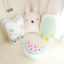 Catoon stuffed doll room decor newborn pillow educational cushion gifts child