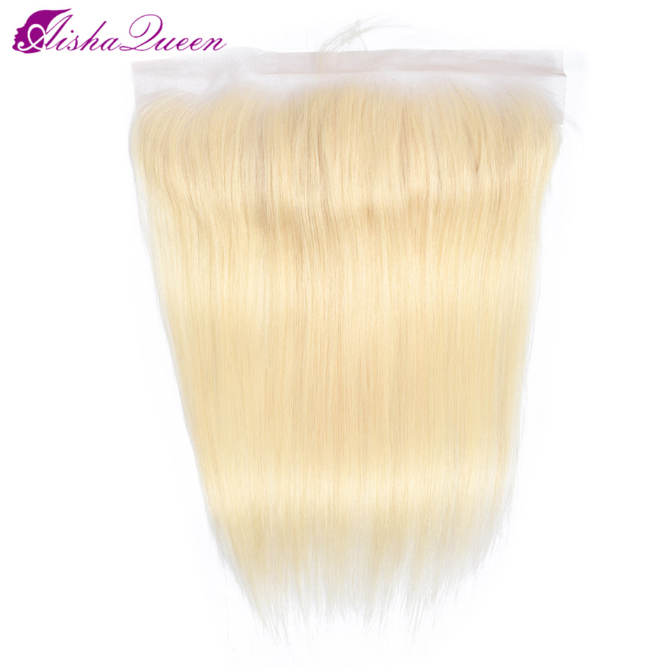 Aisha Queen Straight Hair Closure 13 4 Lace Frontal Free Part Peruvian 100 Remy Human Hair