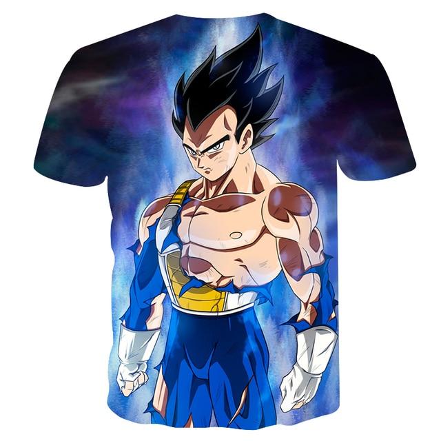 Dragonball Super Ultra Instinct Fighter Print T-Shirt
