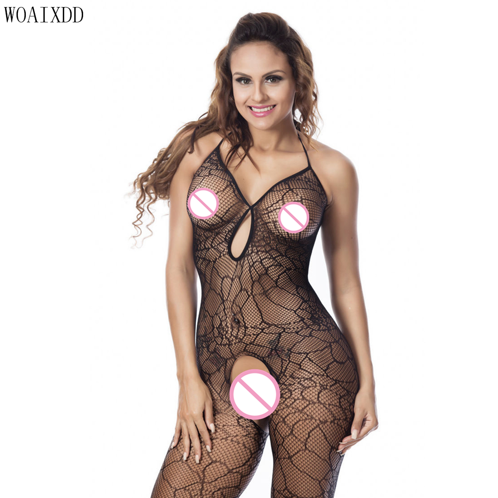 New arrival black <font><b>sexy</b></font> girl bodystocking Plus size <font><b>XXXL</b></font> open butt design full <font><b>body</b></font> stocking fishnet women Lingerie <font><b>Sexy</b></font> Hot image