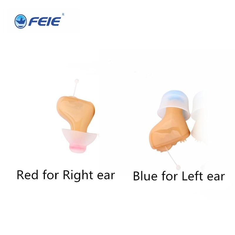 6 canaux CIC dans Canal hearing aid sida mini Invisible numérique Oreille Appareil Auditif de Perte Sévère Modérée Compensation S-100A