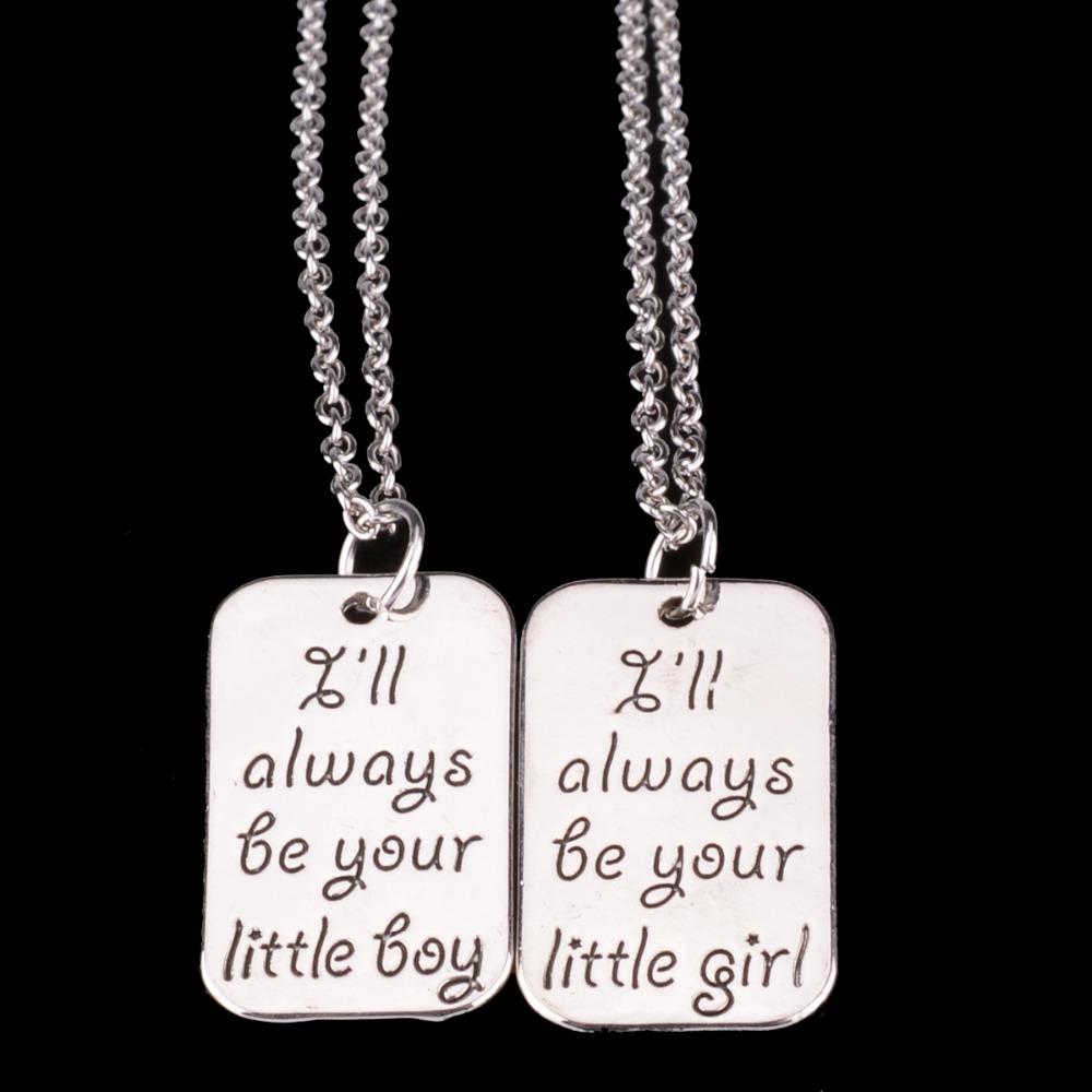 Bespmosp little boy girl brother sister sis daughter son children bespmosp little boy girl brother sister sis daughter son children pendant necklace girls boys gift family jewelry collier choker in pendant necklaces from mozeypictures Image collections