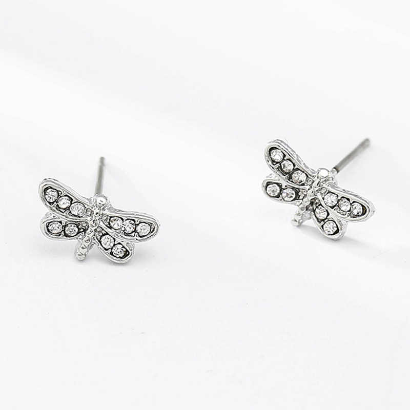 Boosbiy Silver Sparkling Bow Stud Earrings With Clear CZ For Women  Compatible with Jewelry Party Pandora