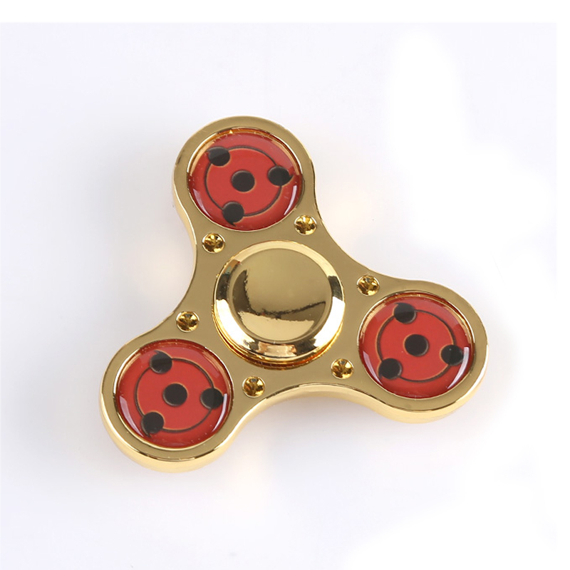 Fidget Spinner Naruto Sharingan Decompression Toys Hand Spinner EDC ADHD Finger Spinner Gift For Children And