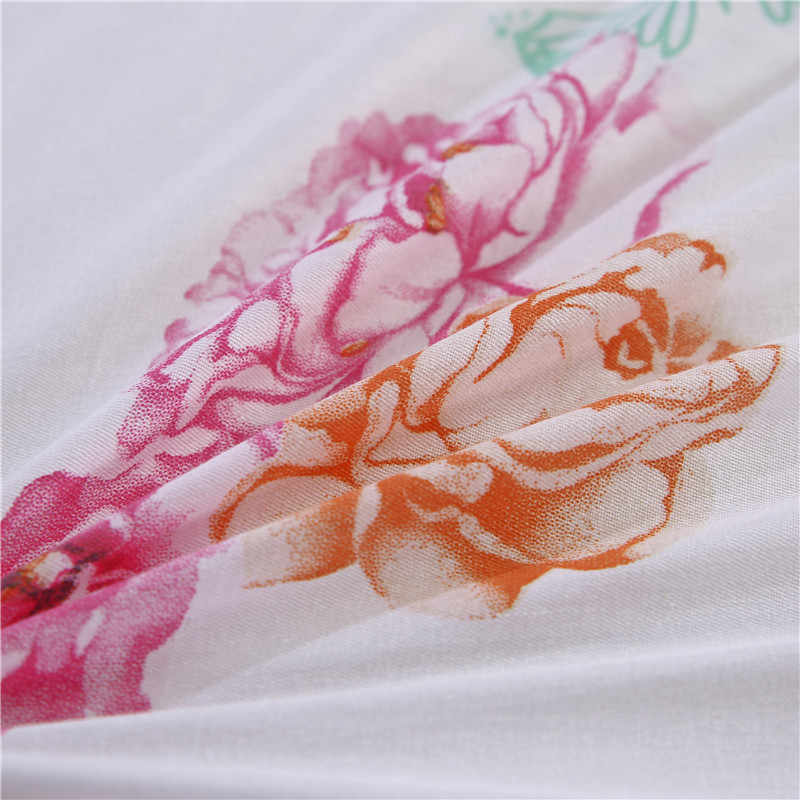 LAGMTA 1pc 100% cotton  high-grade printed zipper duvet cover Available in a variety of sizes and custom sizes