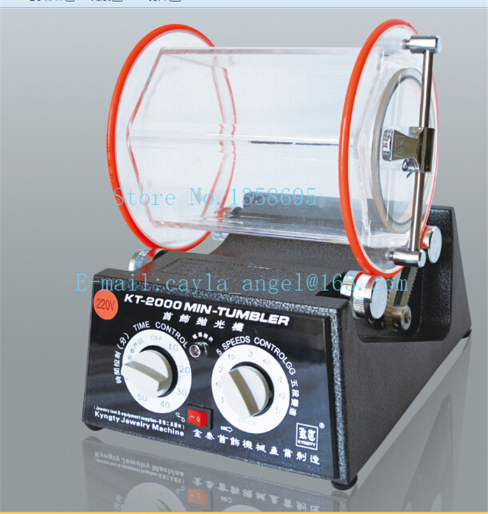 Free shipping Polishing Machine 5KG Mini Rotary Tumbler, Jewelry Machine,Tools & Equipment 5kg capacity mini rotary polishing tool jewellery polishing machine rotary polishing machine