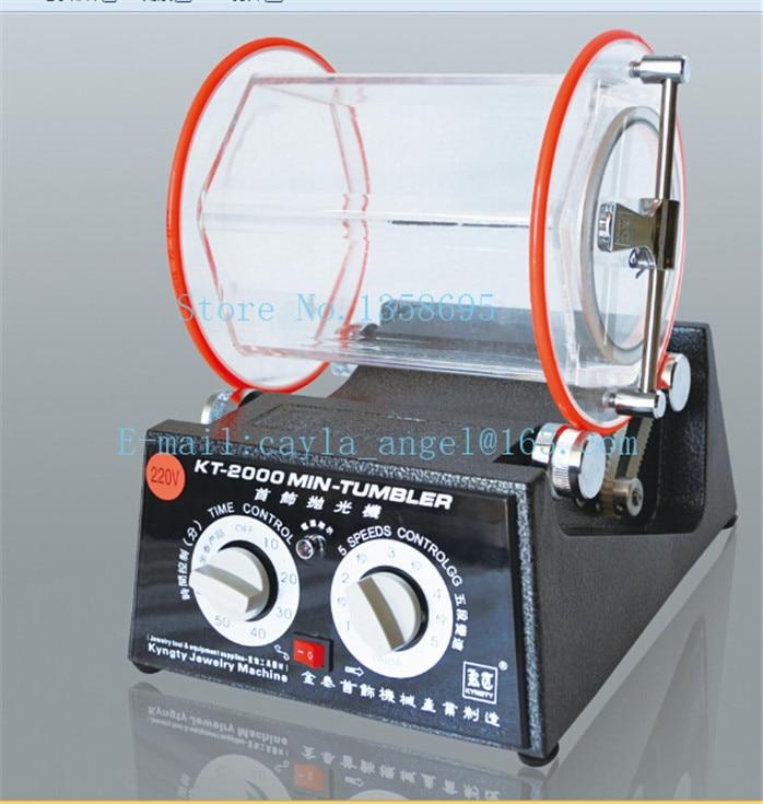 Spedizione gratuita Lucidatura Macchina 5 KG Mini Rotary Tumbler, gioielli Macchina, Tools & Equipment