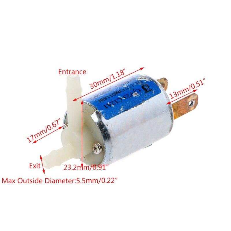 Ventil Sanitär Bescheiden Dc 12 V Normal Geschlossen Typ Elektronische Control Magnet Entmutigt Luft Ventil Komplette Artikelauswahl