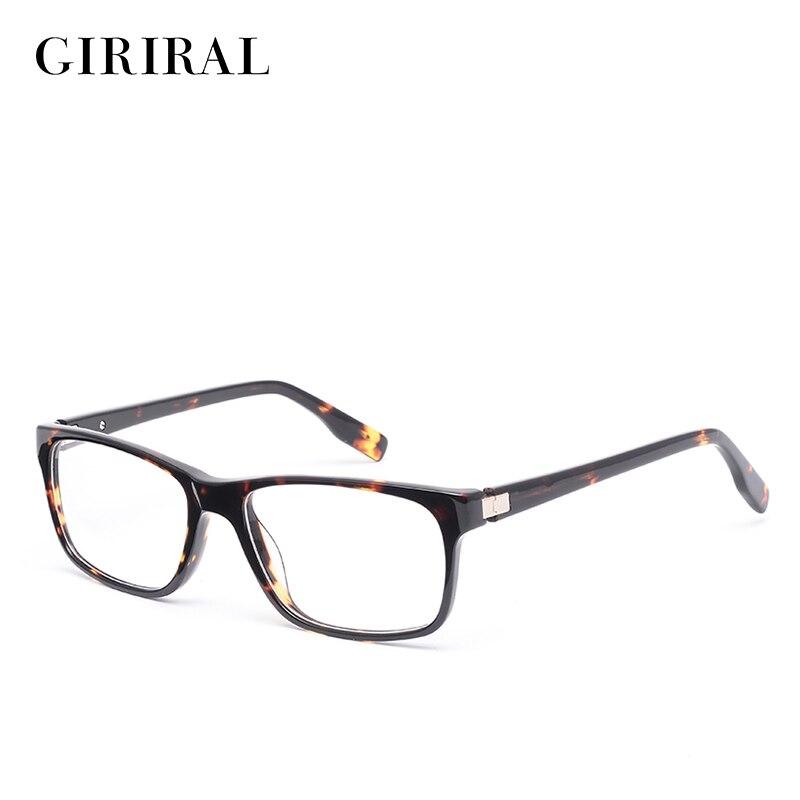 Acetate women Brýle frame retro optický značkový značkovač krátkozrakých brýlí rám # BC3586