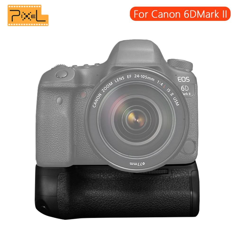 PIXEL Work With LP E6 LP E6N Battery BG E21 E21 Battery Grip Handle For Canon