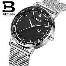 Switzerland BINGER Women Watches Luxury Brand Quartz Watch Women Japan Movement Relogio Feminino Waterproof Wristwatches B2001