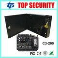 2 двери доступ к панели управления weigend ZK TCP/IP две двери система контроля доступа доска с 12V5A питания коробка разъем батареи