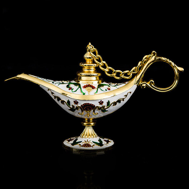 Decoration hand made gifts to children india golden aladin magic decoration hand made gifts to children india golden aladin magic lamp home decoration collectible easter genie negle Image collections