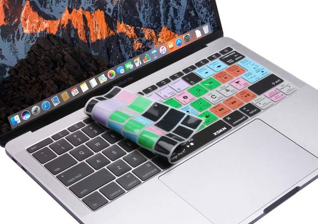 XSKN Smart Skin, for Apple Logic Pro X Shortcut Keyboard Cover Tutorial  Silicone Skin for Macbook 12 inch A1534, US EU Layout