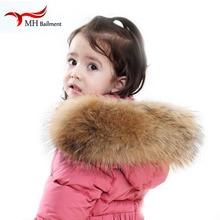 Real Fur luxury Scarf Jacket Collar Women Winter Coat Fur Scarves Raccoon Fur Shawl Warm Neck Warmers Scarf scarfs for ladies