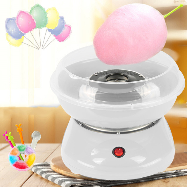 Hot Household Mini Electric Cotton Candy Maker Machine DIY Sweet ...